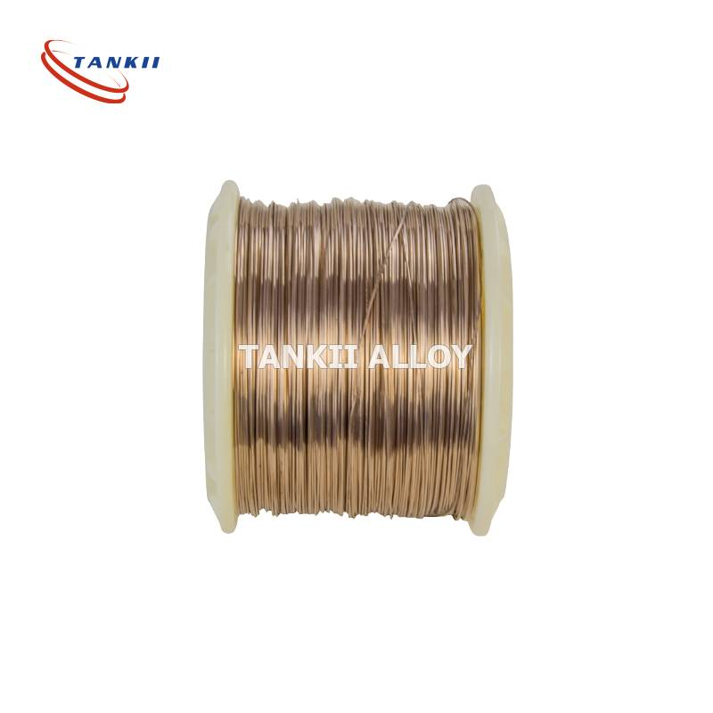 Manganese wire Copper-manganese-nickel alloy (CuMnNi alloy) for use at room temperature