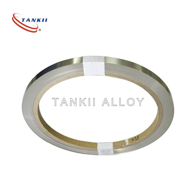 Resistors 5mm Width 1Cr13Al4 Bright Flat Strip FeCrAl resistance wire