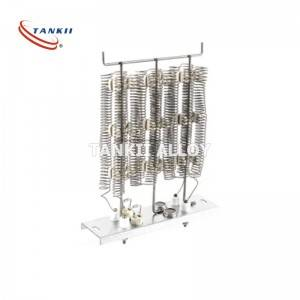 Open Coil Air Duct Heaters electric elements with high temperature heating wire