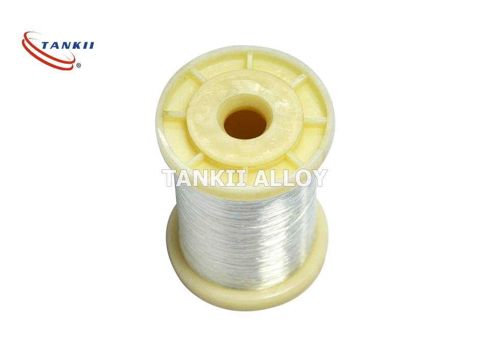 0.6mm  Ni Pure Nickel Alloys Wire For Central / Side Electrode /Industry
