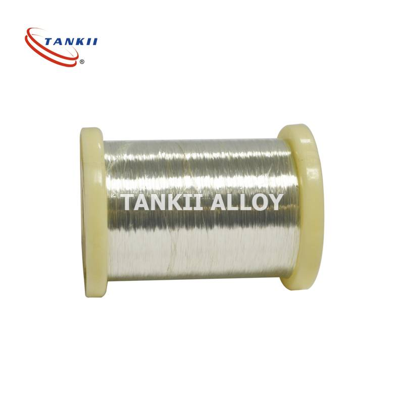 Tankii Flat Nickel Heat Resistance Electric Wire Pure Nickel Wire Used In Heating Industry