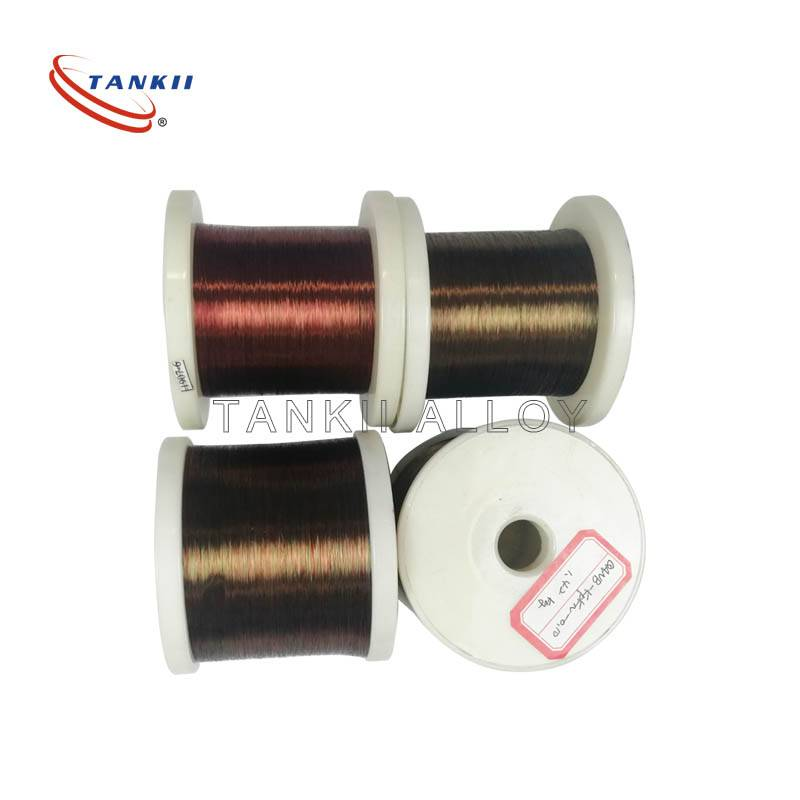 Round Polyester Enameled Winding Wire 0.1 Mm 430 Stainless Steal For Resistors