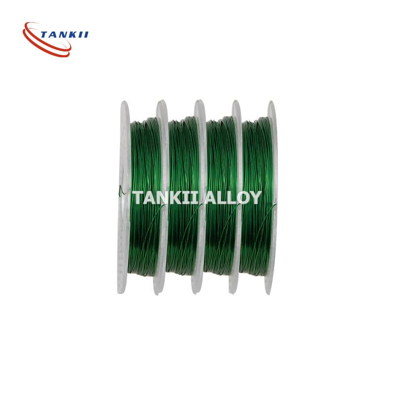 0.1mm 180 class Enameled Polyurethane Nichrome Wire High Temperature Colored Wire