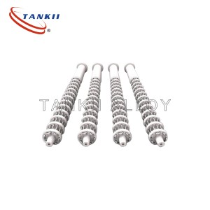 Tankii Customized Tubular Heater Finned Heating Elements Ribbed Elements Manufacturer Used In Electric Industry