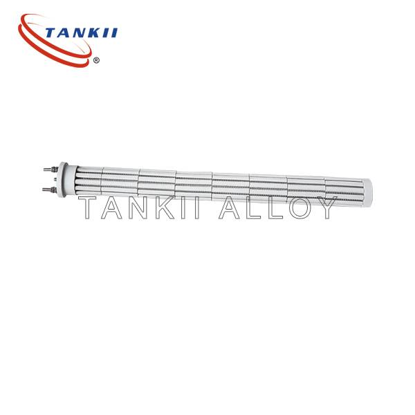 Bayonet heating elements for electric heating