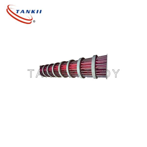 Tankii customized thermofin heating elements ribbed heating elements electric bayonet heating elements