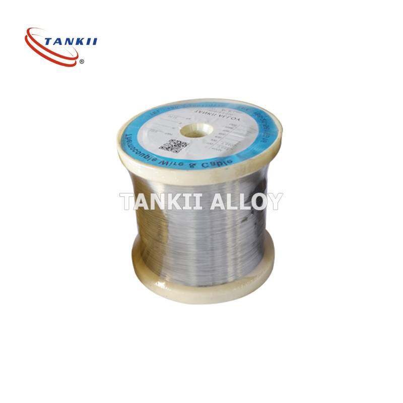 Alloy 875 Magnetic Round Fecral Wire Good Form Stability For Industrial Furnace