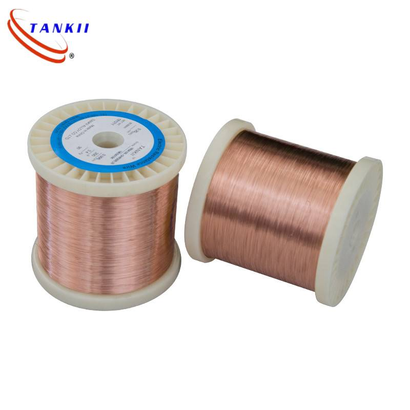 Cu-Ni alloy heating resistance wire CuNi1 resistance wire