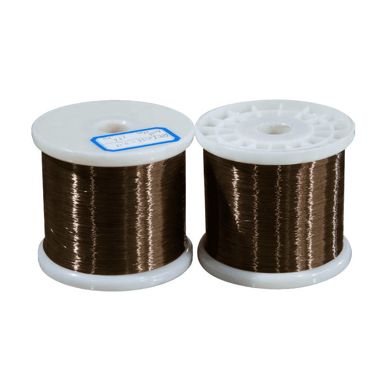 0.2mm 130 Class Enameled Wire Colored Round Copper Alloy Manganin