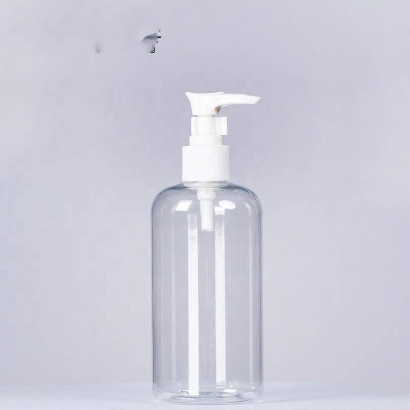 Hot Sale Clear Plastic Bottle With Pump Dispenser