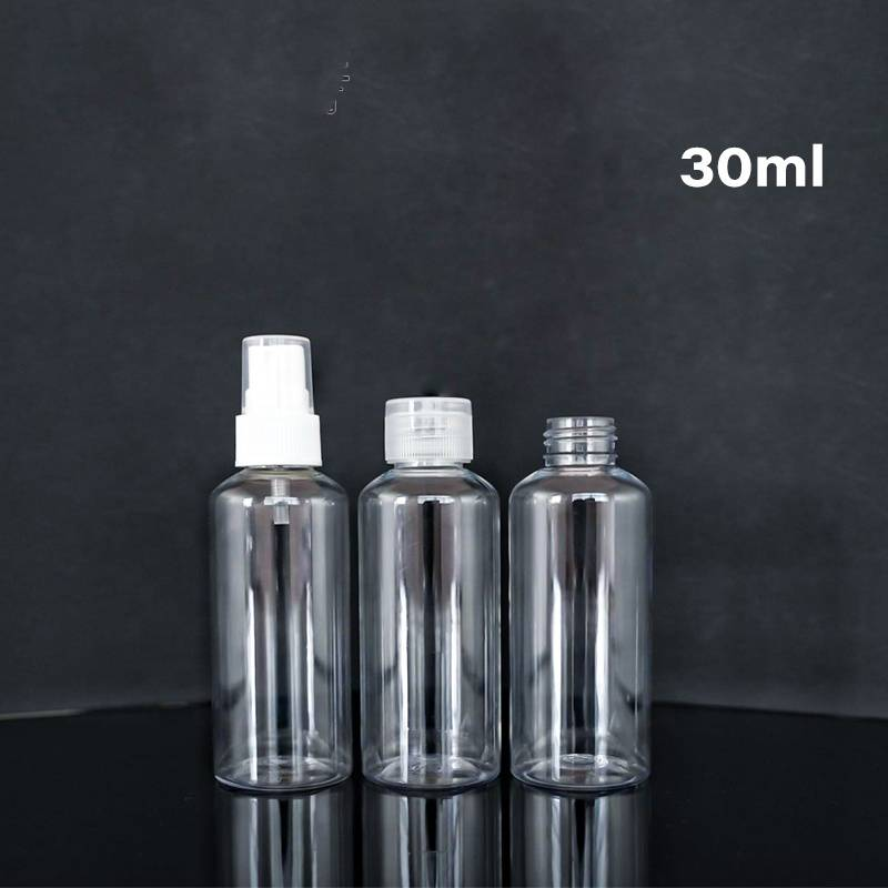 Low price for 300ml Plastic Bottle Price -  Clear Portable Empty Travel  pet plastic bottle  – Reyoung