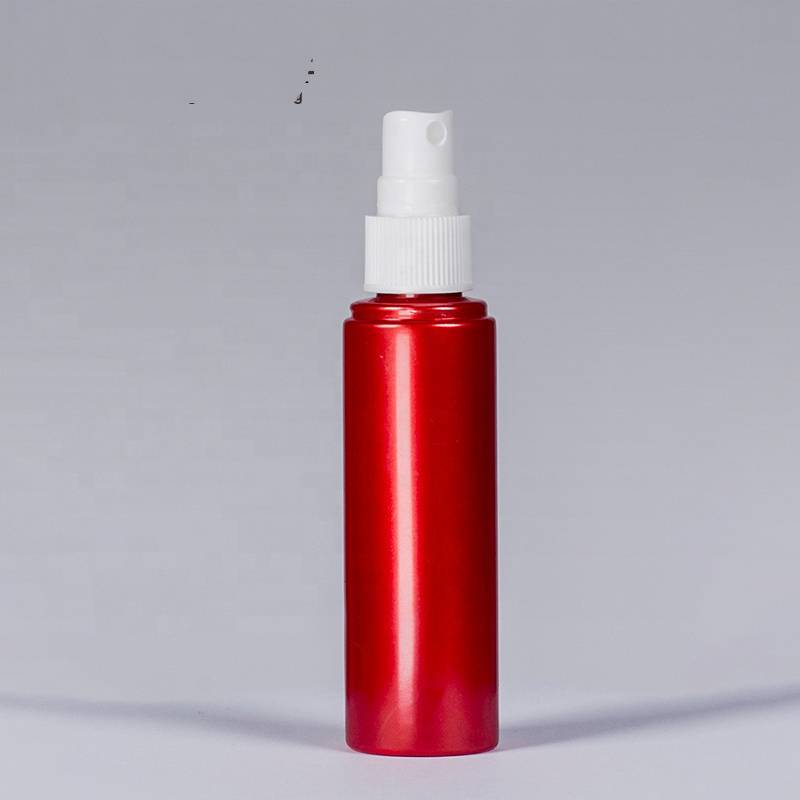 China wholesale Wholesale Lotion Bottles With Pump -  Red Round Hand Sanitizer Plastic Spray Bottle – Reyoung