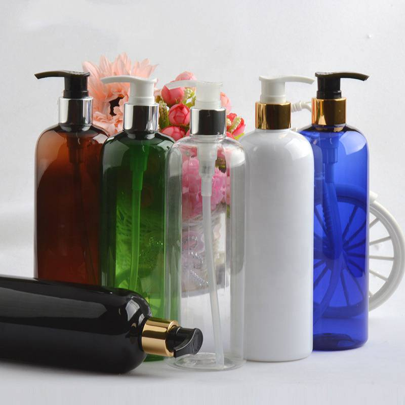 Low price for Wholesale Cosmetics Bottles - Colorful Shampoo  Plastic Bottle  Container With Pump – Reyoung
