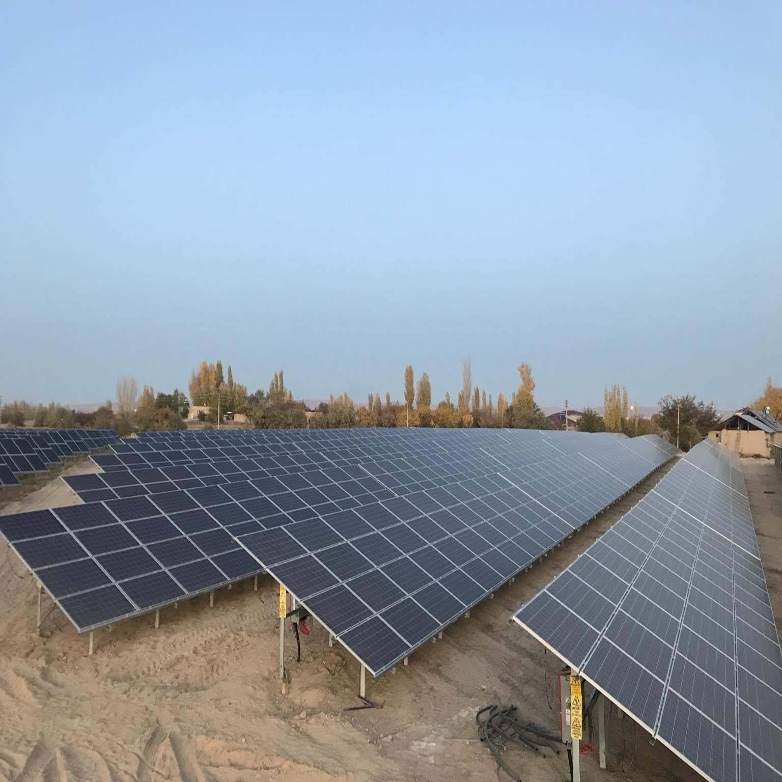 1.5MW soalr project PV Station in Indonesia
