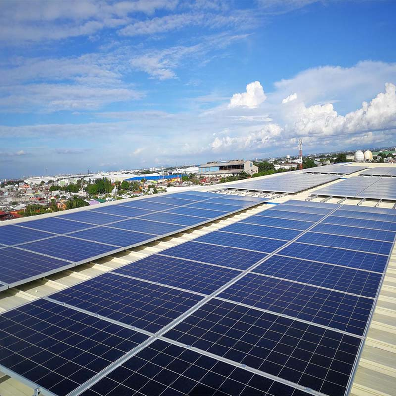 100KW SOLAR ROOF SYSTEM IN MANILA PHILIPPINES