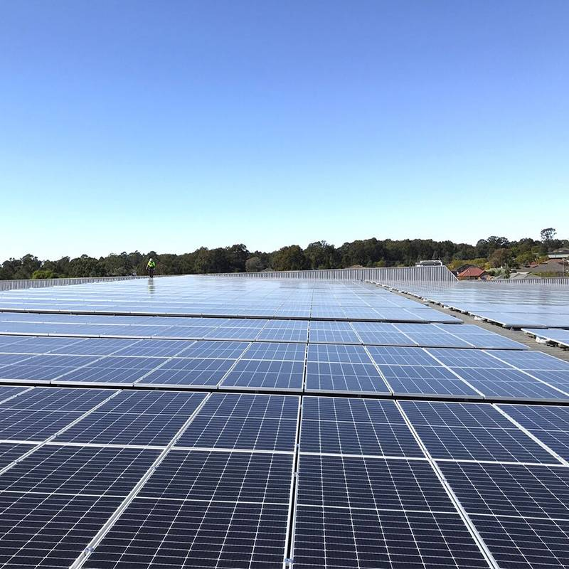 1MW PV Power Plant in Sydney Australia