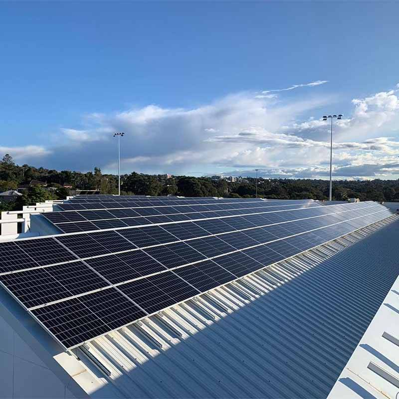 230KW SOLAR PROJECT IN SYDNEY AUSTRALIA