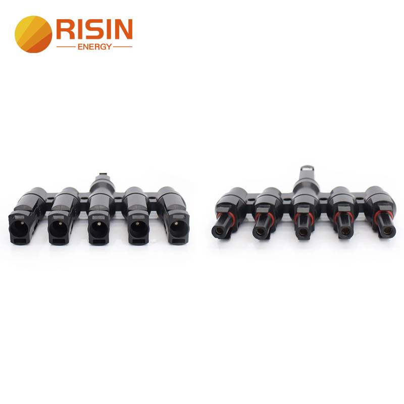 5 in 1 solar Multi Contact Branch Connector for Extension Cables