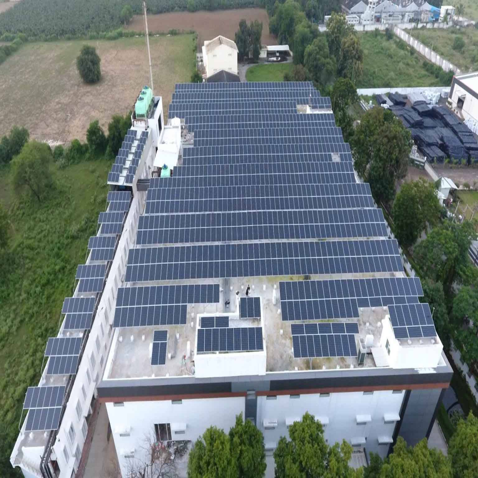 800KW New Energy Solar Roof System in India