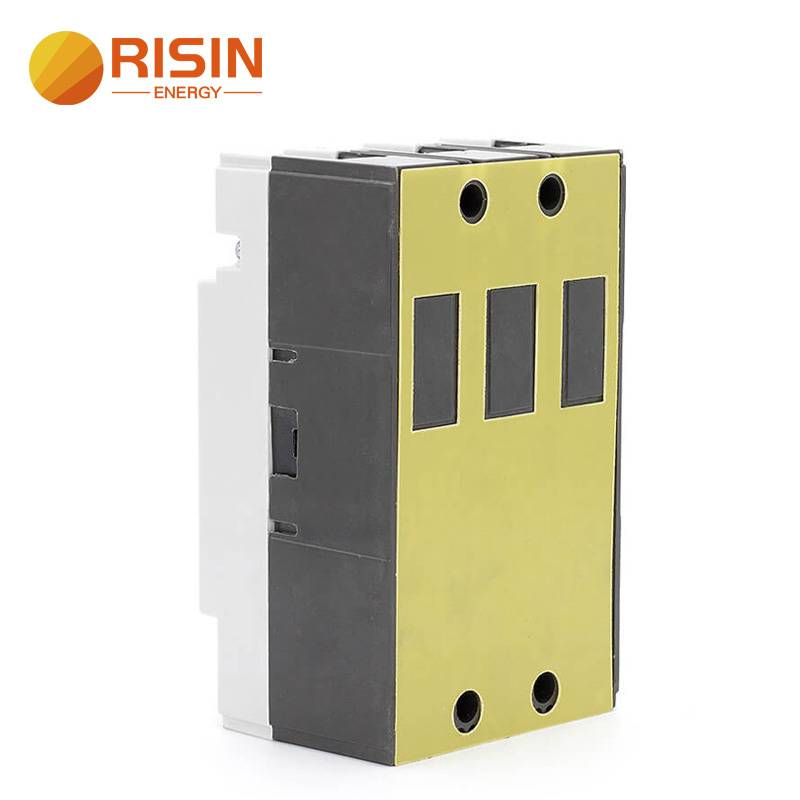125A 160A 250A 3 Pole AC MCCB Moulded Case Circuit Breaker