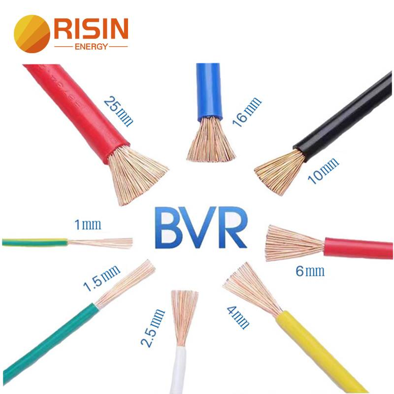 BVR AC Battery Cable PVC Copper 16mm 25mm