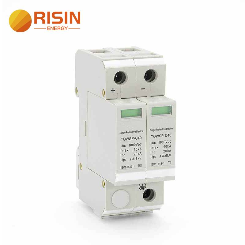 1000V Solar Outdoor Power Protection Device Surge Arrester DC SPD Featured Image