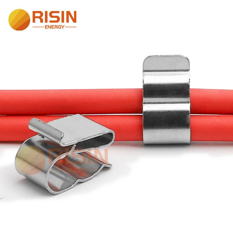 2way 4way Solar Cable Clip Stainless Steel Wire Clamp for Solar Mounting Installation