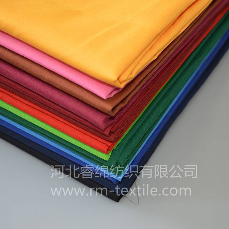 35% cotton 65% polyester pocketing  fabric