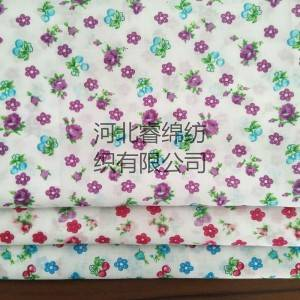 10% cotton 90% polyester printed fabric