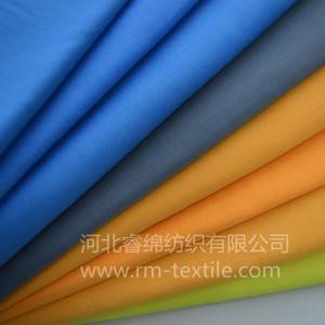 35% cotton 65% polyester dyed fabric