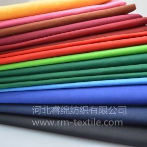 Good quality polyester cotton fabric poplin fabric