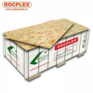 OSB (Oriented strand board)