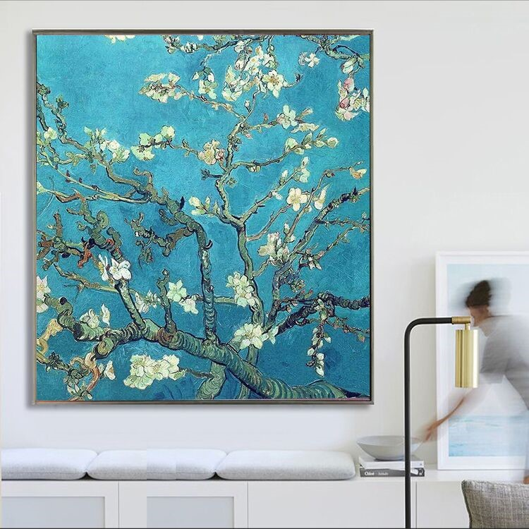 Branches with Almond Blossom Vincent Van Gogh