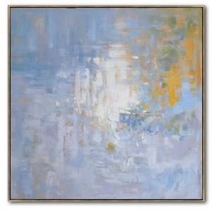 Discount wholesale Framed Canvas Prints - Handmade Modern Abstract Oil Painting #RG20203 – Royi Art