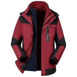 Low price for Womens Fleece Jacket - Womens 3 in 1 rain jacket Custom OEM outdoor clothing waterproof jaket – Ruisheng