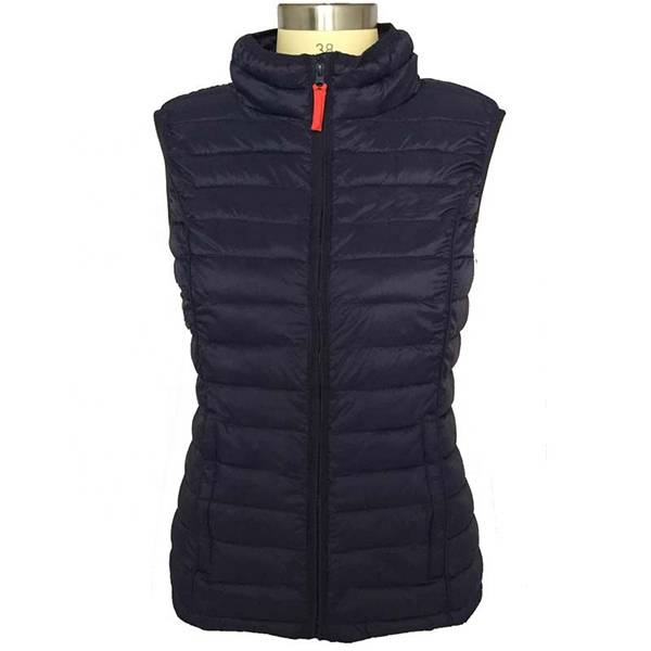 Factory supplied Womens Puffer - High-quality womens down vest to keep warm and thick – Ruisheng