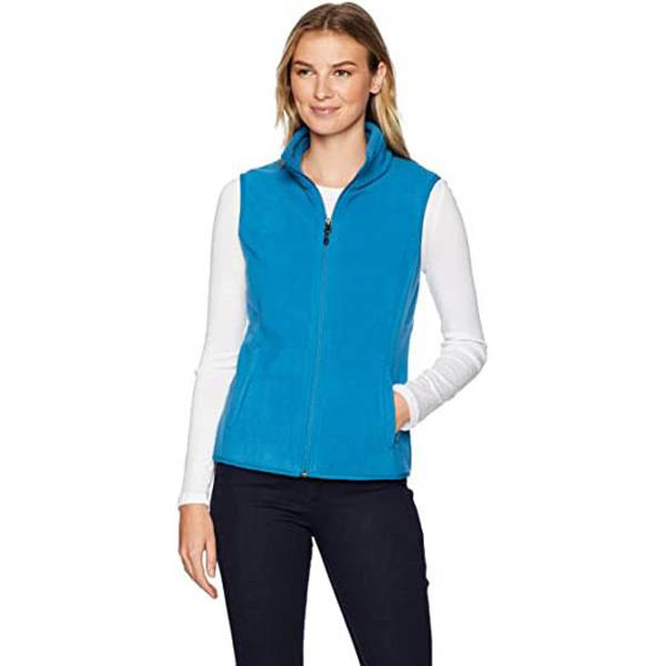Fixed Competitive Price Ladies Pure Cotton Vests - Hot sale, womens fleecevest can be customized for warmth and comfort – Ruisheng
