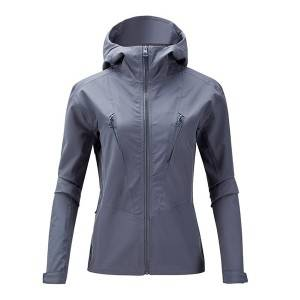 Factory Promotional Ladies Soft Shell Jacket - Profession womens hiking clothes Durable and easy to clean – Ruisheng