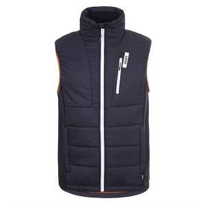 100% Polyamide waterproof softshell vest for men