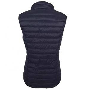 High-quality womens down vest to keep warm and thick