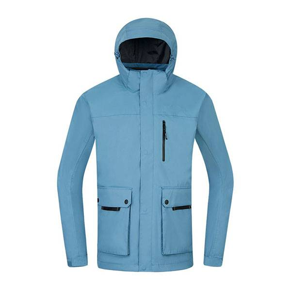 Best Price for Mens Cotton Canvas Jacket - MenS 3 in 1 rain jacket Custom OEM outdoor clothing waterproof jaket – Ruisheng