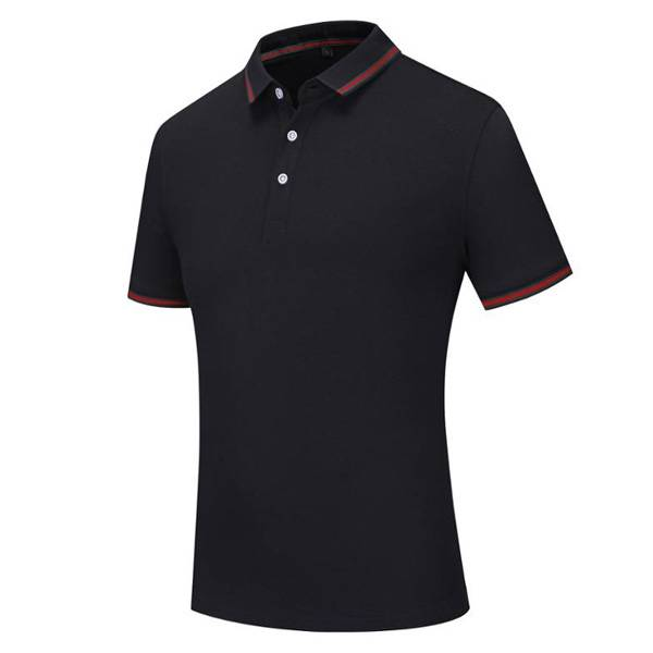 Good Quality Mens T Shirt - Cotton mens polo Shirt Uniform Polo Embroidery School Badge Polo T-Shirt – Ruisheng