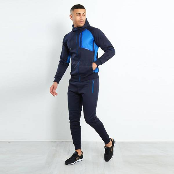 Good quality Thick Fleece Jackets - Mens Running Fitness Clothes Long Sleeve Gym Sports Suits Quick Dry – Ruisheng