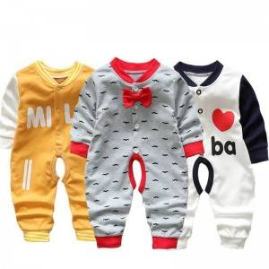 Hot-selling Childrens Waterproof Clothing - Baby one-piece spring and autumn cotton long-sleeved baby romper – Ruisheng