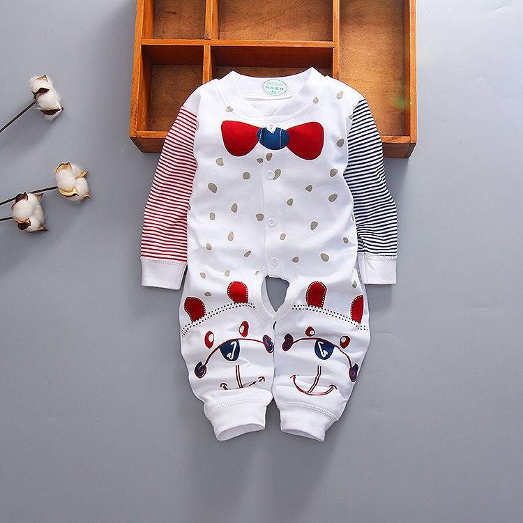 Chinese wholesale Easy Bibs - Baby one-piece spring and autumn romper – Ruisheng