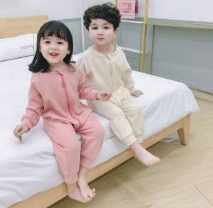 Reasonable price Childrens Polo Shirts Wholesale - Baby One Piece Cotton Long Sleeve Spring and Autumn Homewear – Ruisheng