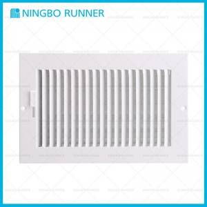 Cheap PriceList for Comfort Hvac - Steel Register 1-way-with Damper Sidewall Ceiling Register White – Ningbo Runner