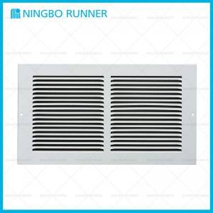 "Factory wholesale T-Bar Perforated Supply Diffuser - Steel Return Air Grille White-1/3"" Space Fins – Ningbo Runner"
