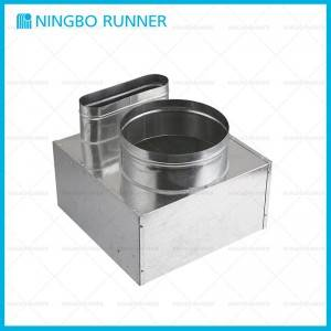 Europe style for Hvac System - Accessories Galvanized Distribution Plenum – Ningbo Runner