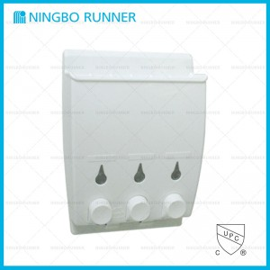 3 Carriers Liquid Soap Dispenser